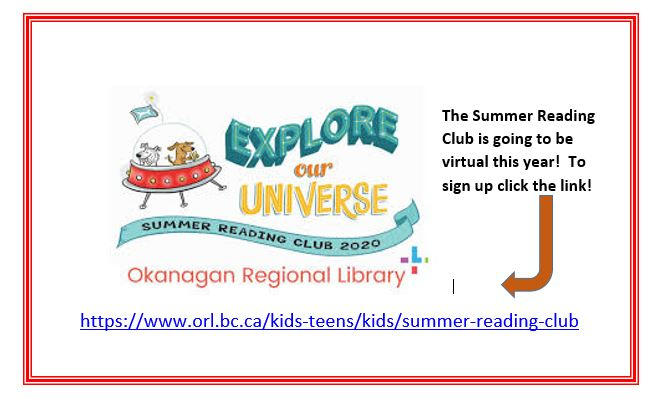 ORL Summer Reading Club is going Virtual